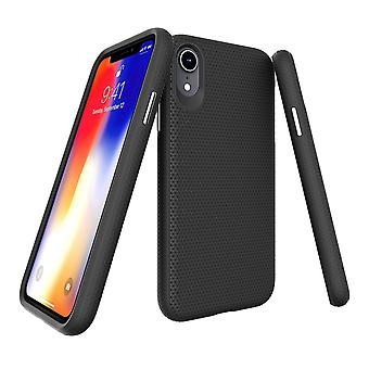 W przypadku iPhone'a XR obudowa, armor black shockproof protective durable slim phone cover