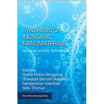 Synthesis of Inorganic Nanomaterials Advances and Key Technologies by Mohan & Sneha