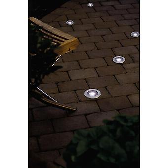 Konstsmide Single LED Solar Ground Spotlight