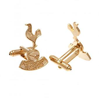 Tottenham Hotspur Gold Plated Cufflinks