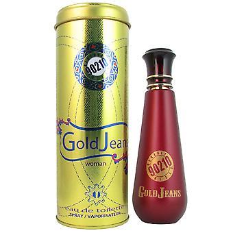 90210 gouden jeans voor vrouwen door beverly hills 3.4 oz eau de toilette spray