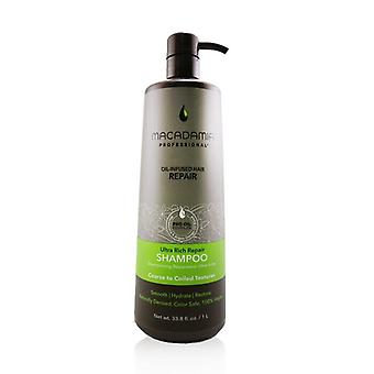 Macadamia Natural Oil Professional Ultra Rich Repair Shampoo (Coarse to Coiled Textures) 1000ml/33.8oz