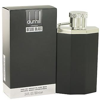 Deseo negro Londres por Alfred Dunhill Eau De Toilette Spray 3.4 oz/100 ml (hombres)