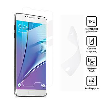 Stuff Certified® Screen Protector Samsung Galaxy Note 5 Soft TPU Foil Film PET Film