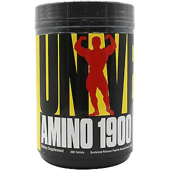 Universal Nutrition Amino 1900 - 300 Tablets - Peptide-bonded Amino Acids