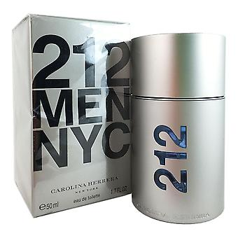 212 carolina herrera for mænd 1,7 ounce 50 ml eau de toilette spray