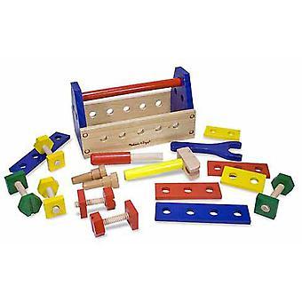 Melissa & Doug Take-Along Tool Kit houten speelgoed