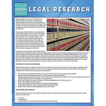 Legal Research Speedy Study Guide von Publishing LLC & Speedy
