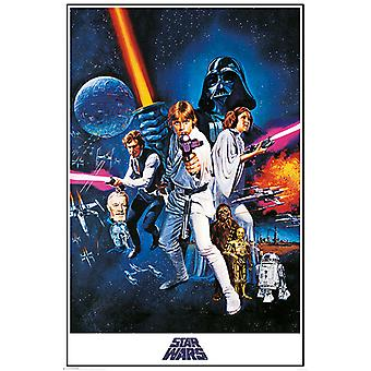 Star Wars A New Hope One Sheet Maxi Affiche