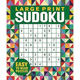 Large Print Sudoku by Eric Saunders - 9781788883979 Book