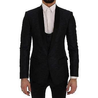 Dolce & Gabbana Blue MARTINI Slim 2 Piece Blazer -- SIG6899504