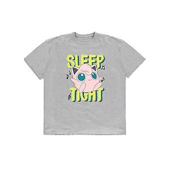 Officiële Pokémon Jigglypuff 'Sleep Tight' Oversized Women's T-Shirt