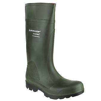 Dunlop menn's purofort profesjonell wellington boot grønn 20230