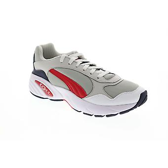 Puma Cell Viper  Mens Gray Canvas Casual Lace Up Low Top Sneakers Shoes