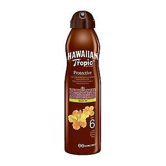 Sun Screen Spray Aceite de Argán Hawaiano Tropic/Spf 15 - 177 ml
