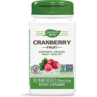 Cranberry Fruit 465 mg (180 vegetarische Kapseln) - Nature's Way
