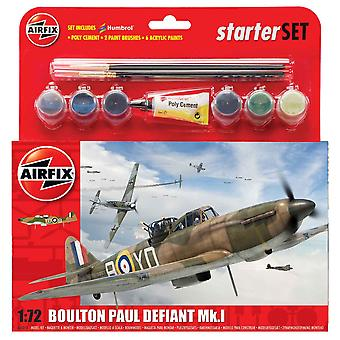 Airfix A55213 1:72 Boulton Paul Defiant Mk.I Starter Set modell készlet
