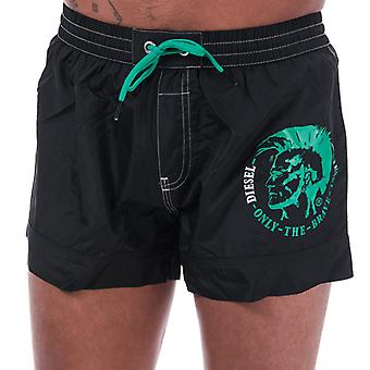 Men's Diesel BMBX 2.017 Swim Shorts in Black