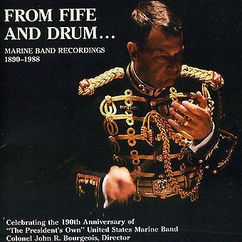 Sousa/Weldon/Blankenburg/Johnson/Gounod/Liszt/Von - From Fife and Drum: Marine Band Recordings 1890-1988 [CD] USA import