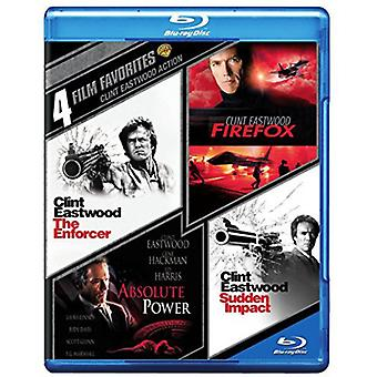 4 film preferiti: Clint Eastwood azione [BLU-RAY] USA importare