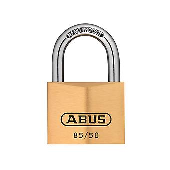 ABUS 85/50mm Brass Padlock Carded ABU8550C