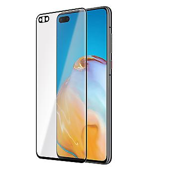 Huawei P40 Screen Protector 9H Mince contour clair Noir
