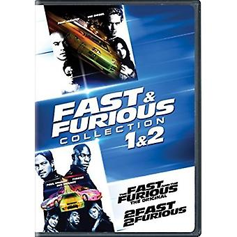 Fast & Furious Collection : importer 1 & 2 [DVD] é.-u.