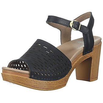 Dansko Womens Denita Open Toe Casual Ankle Strap Sandals