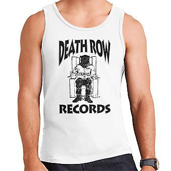 Death Row Records Chair Logo Black Men's Vest