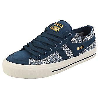 Gola Quota 2 Liberty Womens Fashion Trainers in Ink Multicolor