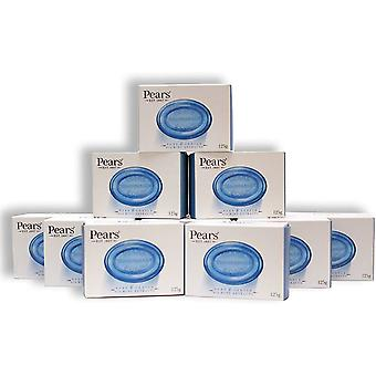 12 x Bars Pears Pure & Gentle With Mint Extracts Blue Soap 125g Each