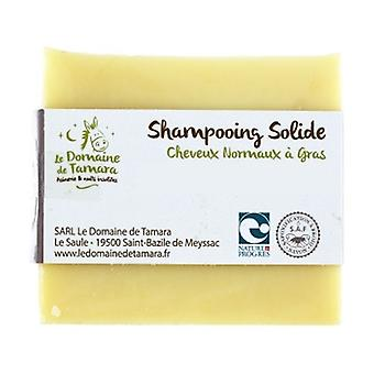 Solid shampoo for normal to oily hair without essential oils 1 unit of 100g
