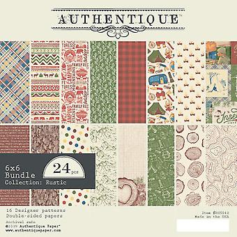 Authentique Rustic 6x6 pulgadas De papel Pad