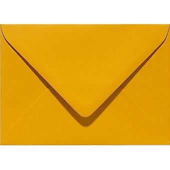 Papicolor 6X Envelop C6 114x162 mm Mosterd-Geel