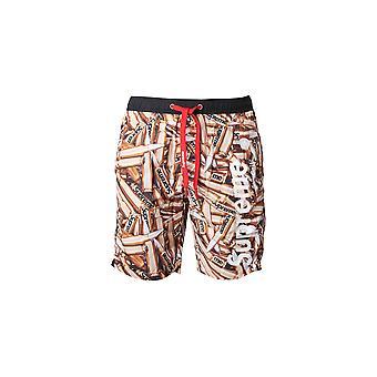 Multicolored Supreme Grip men's swim shorts