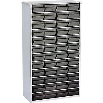 raaco 1248-01 ESD steel box (L x W x H) 306 x 150 x 552 mm No. of compartments: 48 incl. PG cable 1 pc(s)