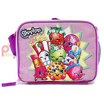 Lunch Bag - Shopkins - Pink Kit Case New  New 415081