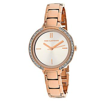 A0730Urix, Ted Lapidus Women'S Classic - Rose Gold Watch