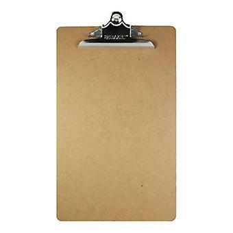 1804-24, BAZIC Legal Size Hardboard Clipboard w/ Sturdy Spring Clip Case of 24