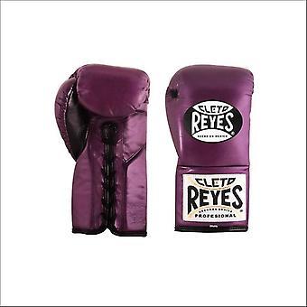 Cleto reyes gants de concours traditionnels - violet
