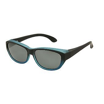 Sunglasses Women's Blue with Grey Lens Vz0027lv