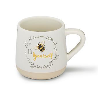 Cooksmart Bumble Bees Ceramic Bell Mug