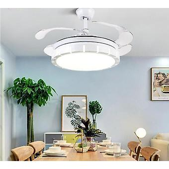 Fan Light Ceiling Reversible Home Smart Living Room Lamp With Remote Control