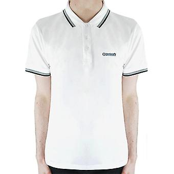 Lambretta Triple Tipped Polo - White/Steel/Grey/Black