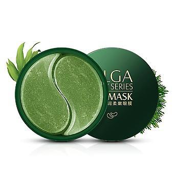 Collagène Algues Crystal Eye Patch, Masque pour les yeux Nourrir et hydrater Enlever sombre