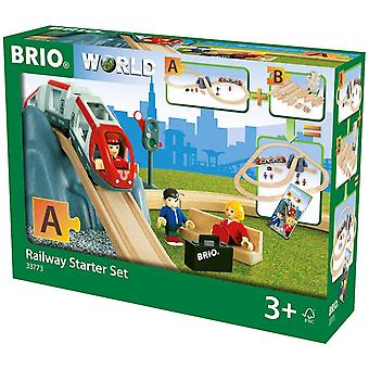 BRIO World - Railway Starter Set A