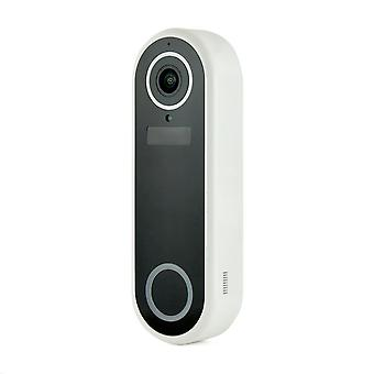 Lloytron Slimline Video Doorbell with Plugin Chime Unit (Model No. B7710WH)
