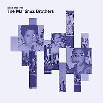 Martinez Brothers - Fabric Presents Martinez Brothers [Vinyl] USA import