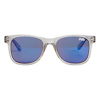 Superdry SDR Superfarer Sunglasses - Gloss Crystal Grey