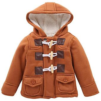 Winter Infant Coat For Baby Boy Jacket Autumn Unisex Kids Warm Wool Outerwear Coat Newborn Clothes